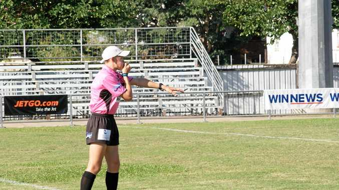 AUTHORITATIVE: Dillon Bartlett showed he is made of stern stuff and one of the region's most promising referees.