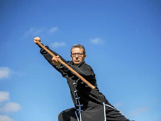 DEDICATION: Owner and lead instructor of Traditional Kung-Fu School Laidley Octavio Mellado.