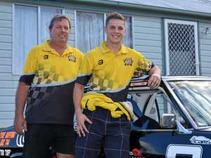 Father and son share passion for racing cars