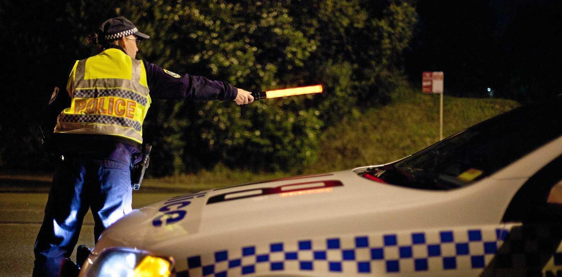 NSW Police Media Highway Patrol RBT generic