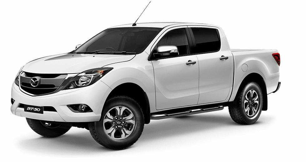 Kevin Formosa was last seen leaving Paget about 2.30pm on Monday in a white Mazda BT-50 ute, similar to this one.