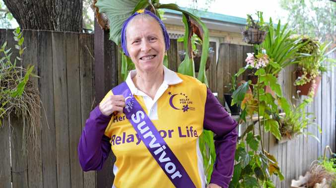 HUMBLED: Gatton's Barbara Martin is the new face of the upcoming Lockyer Valley Relay For Life.