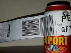 Man checks in a can of beer as only luggage on flight