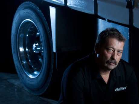 Paul Stone of Blue Ice Transport says he's not paying for damage to the boy racer's car due to his truck suffering thousands of dollars of damage at the hands of his mates.