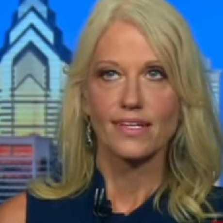 Kellyanne Conway's epic eyeroll.