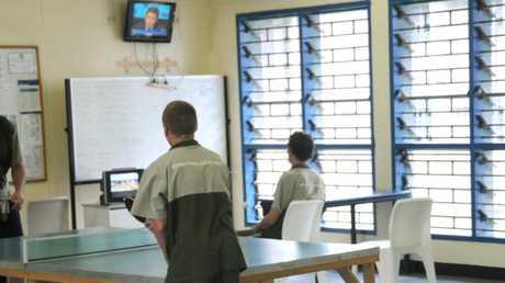 Prisoners at Arthur Gorrie Correctional Centre.
