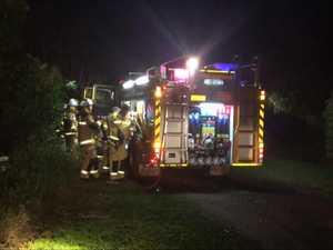 Fire crews attend car fire in Urraween