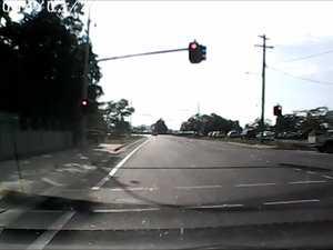 Ute runs red light