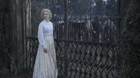 Nicole Kidman in a scene from the movie The Beguiled.