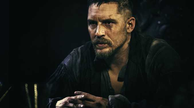 Tom Hardy in a scene from the TV series Taboo.