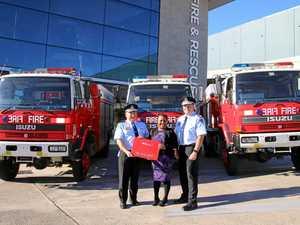Three trucks donated