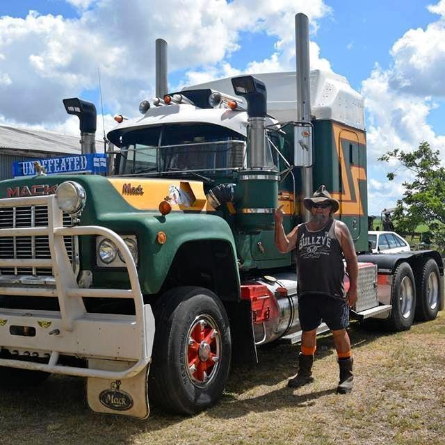 Mack fanatic Matty Harkin is sick of dirty truck stops.