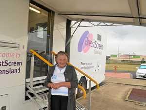 Breastscreen van to make pit stop in Gatton