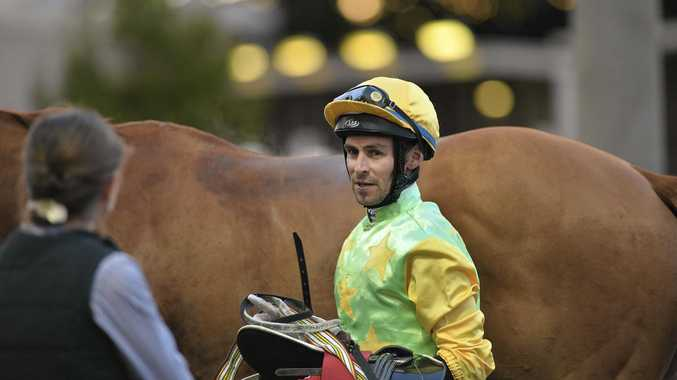 Apprentice Michael Schrapel booted home three winners on yesterday seven-race program at Dalby's Bunya Park.