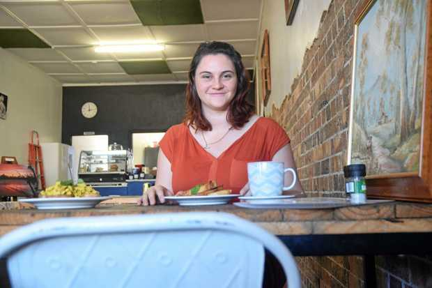 PERFECT TIMING: Bec Treasure's new cafe The Espresso Chef specialises in allergy-free breakfasts and baked treats.