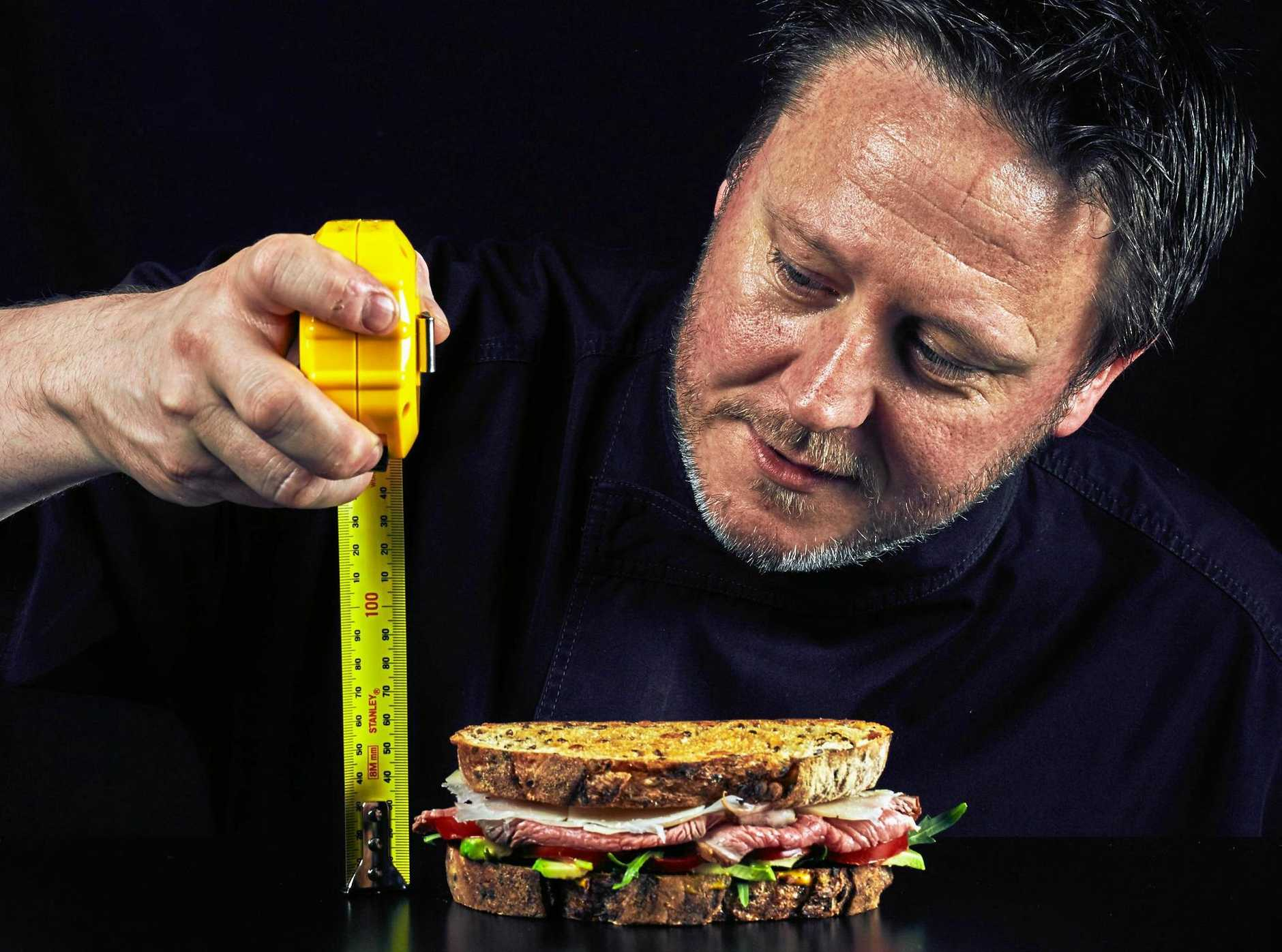 Darren Purchese's gourmet snacks are sure to measure up for fans of the humble toastie.