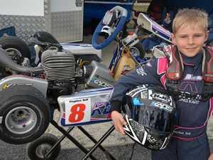 Warwick karter's big V8 dream
