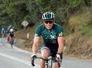 Fine outlook for James Tobin at Velothon Sunshine Coast