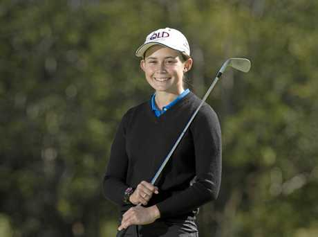 Darcy Habgood recently won the Queensland Amateur Girl's Championship.