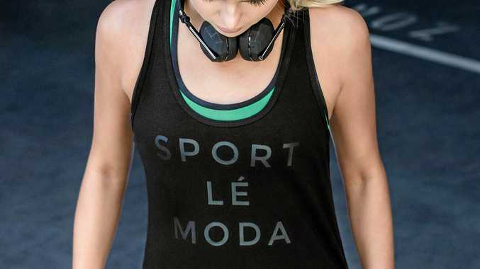 A design from luxe sportswear label Sport Le Moda.