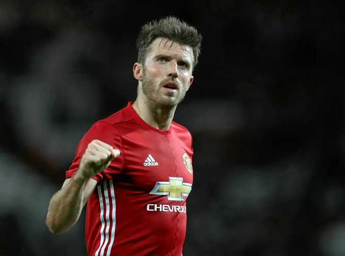 Michael Carrick has been appointed captain at Manchester United.