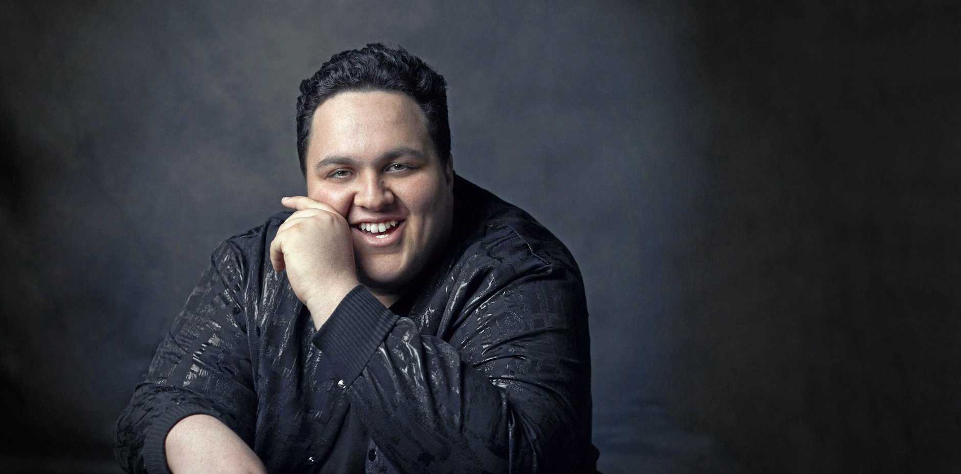 SUCCESS: The Voice winner Judah Kelly will release his debut album later this month.