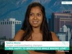Tasha Maile appeared on This Morning to talk about having sex while breastfeeding.Source:YouTube