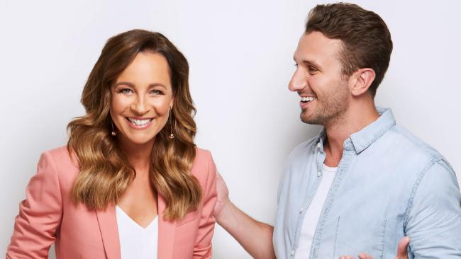 Carrie Bickmore and Tommy Little host a radio show on the HIT network.