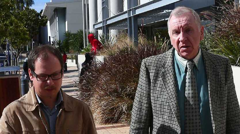 A RUSSIAN doctor accused of faking his medical credentials to get a job as a psychiatrist in North Queensland and on the Gold Coast has tried to argue a Southport judge would be bias in his case. Pictured is Vincent Berg (right). Picture Mike Batterham.