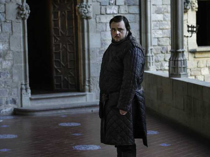 John Bradley in a scene from season six episode six of Game of Thrones.