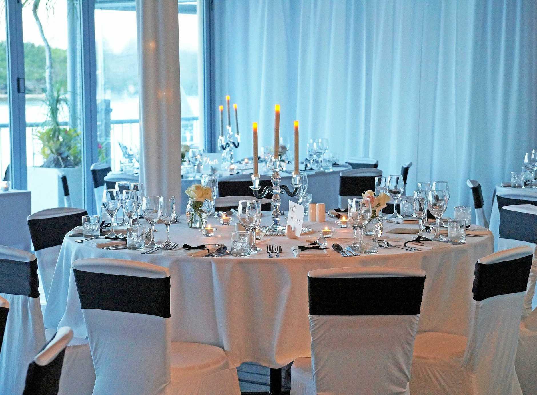 River Deck Restaurant is a popular wedding reception venue.