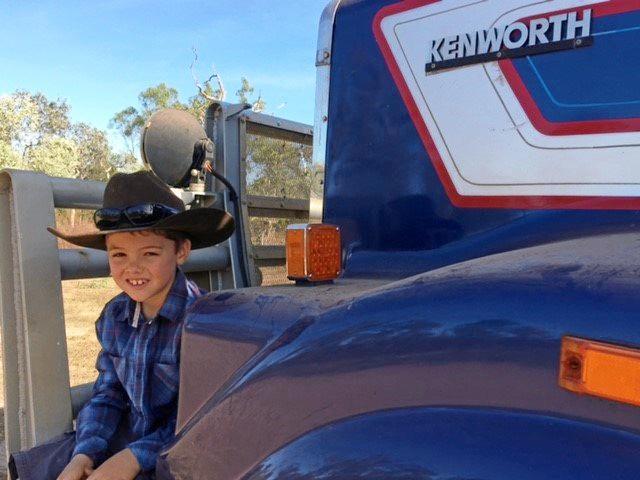 Caleb Simmons loves Kenworths