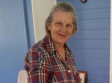 MILESTONE: Lillian Duckett cuts her celebratory 50 year membership cake at Clermont QCWA monthly meeting.