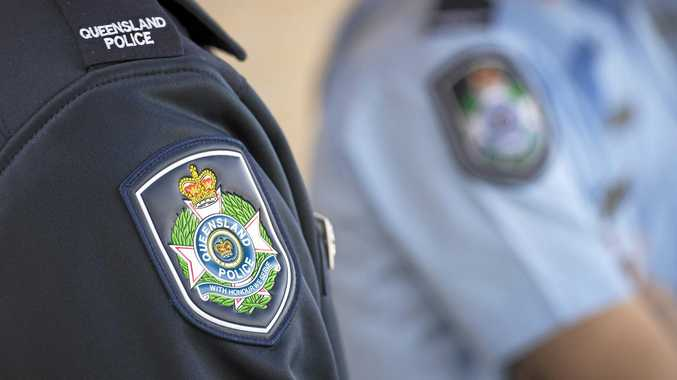 Mackay Constable Tristan William Lebherz remains suspended without pay while his 17 charges progress through the courts.