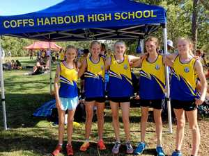 Jetty High's squad of cross country sensations