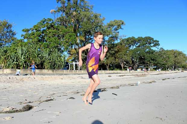 CROSS COUNTRY: Kailash Bowen has been running on beaches since he was young, now he's taking his skills to the state championships.