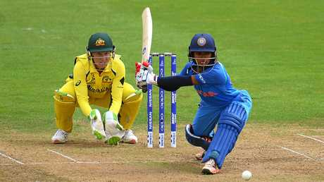 India's Punam Raut scored 106 in her side's loss to Australia.