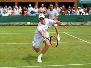 Aussie holds off match point in Wimbledon quarter final win