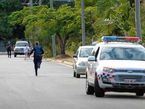 WATCH: Fugitive Rocky teen bolts as police attempt arrest