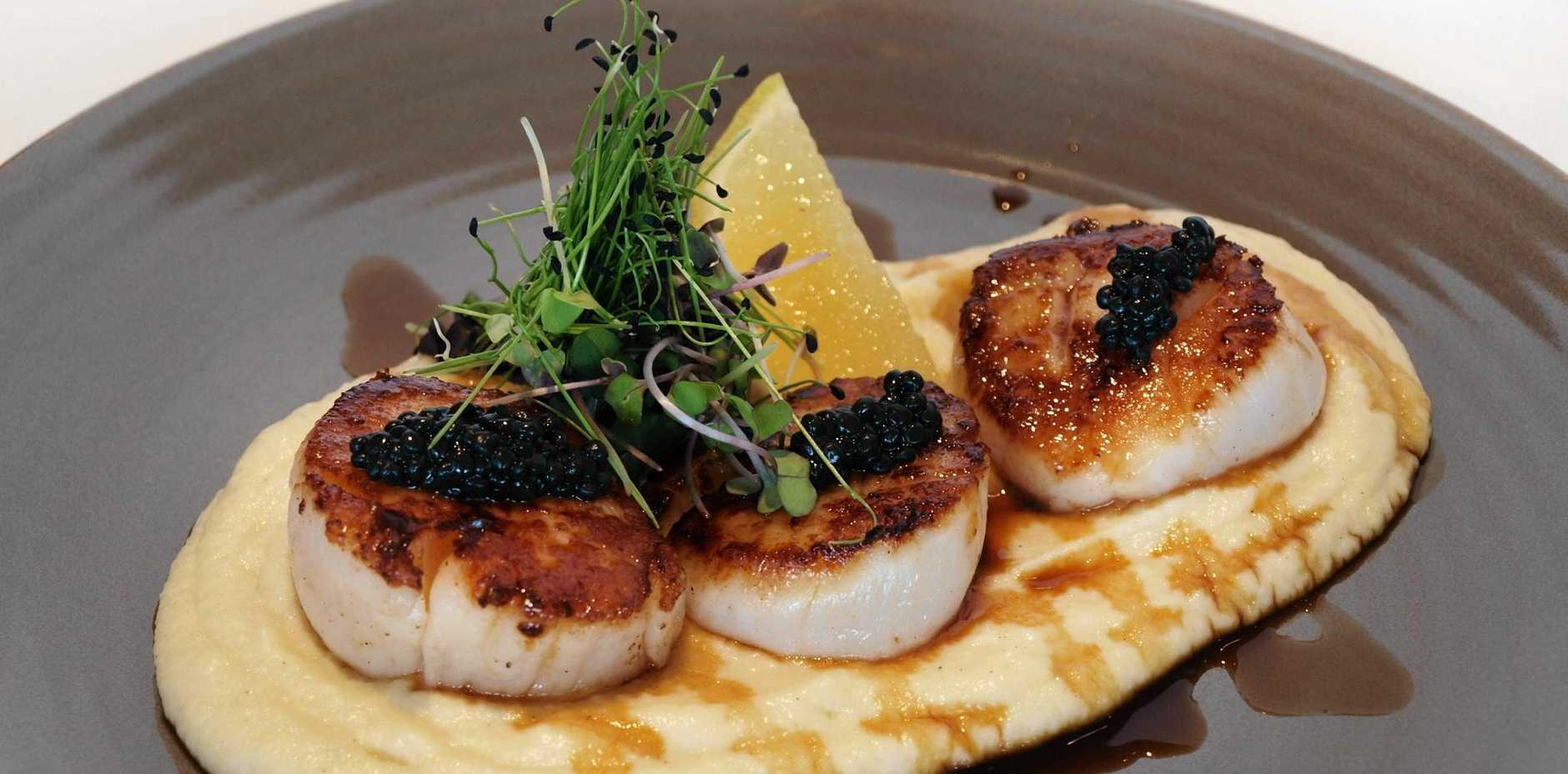 Scallops, a local favourite, are in short supply forcing prices to skyrocket.