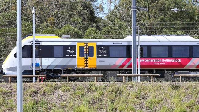 A New Generation Rollingstock train at Ipswich.