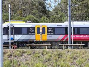 Queensland's controversial new trains to roll out next week