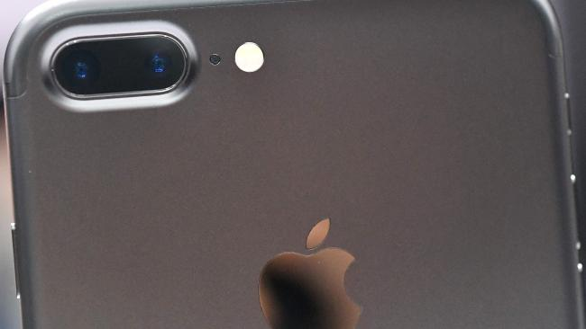 The iPhone 7 and larger 7 Plus both feature the small hole by the camera