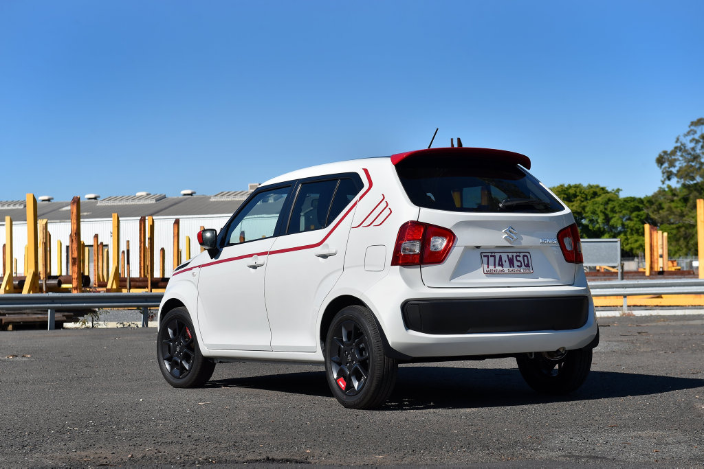 FUNKY BACK: Suzuki's Ignis is flush with personality, charm and equipment all at an appealing price point