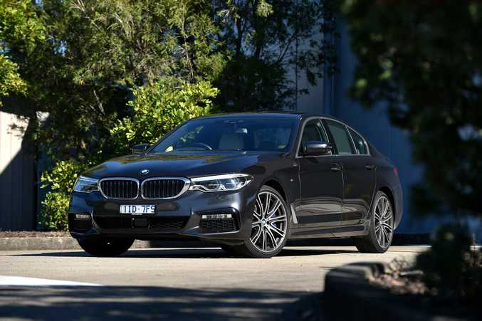 GRACE AND PACE: BMW's 540i tops the current 5 Series range with a beguiling blend of luxury, performance and style