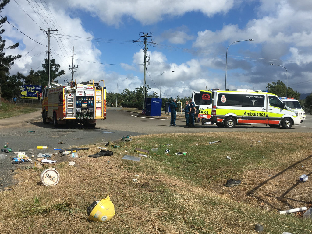 The forensic crash unit from Mackay will now be tasked with piecing together the circumstances which led to a man's death near Airlie Beach.