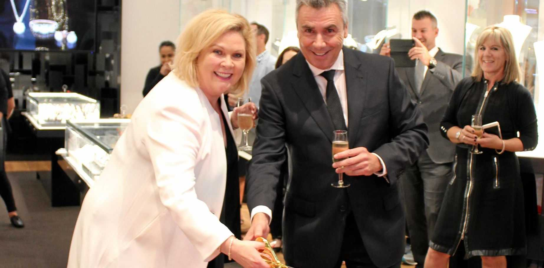 Jane opening her new store in Carindale.