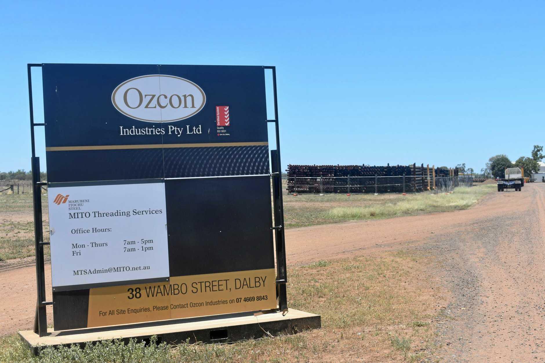 VOLUNTARY LIQUIDATION: Ozcon Industries was placed in voluntary liquidation in January. INSERT: Director of Ozcon Industries Kieran Chiverton.