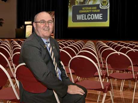 Tony Ferris, President Sunshine Coast and Regional District RSL.