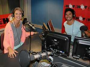 Coast's victorious netball star takes on breakfast radio
